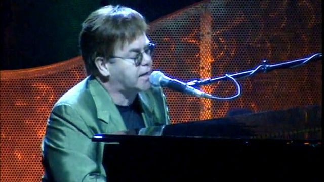 Concert d'Elton John [RTS]
