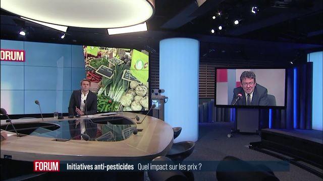Initiative contre les pesticides de synthèse: les prix du bio restent un obstacle (vidéo) [RTS]