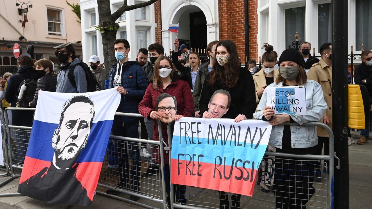 Une loi russe vise à limiter la marge de manoeuvre de l'opposition. [FACUNDO ARRIZABALAGA - EPA]