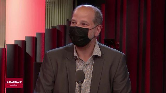 École-Atelier Rudra Béjart dans la tourmente: Interview de Grégoire Junod (vidéo) [RTS]