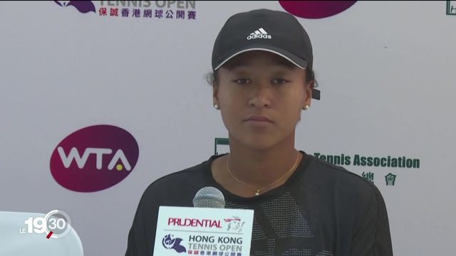Naomi Osaka, numéro 2 mondiale, se retire de Roland-Garros [RTS]