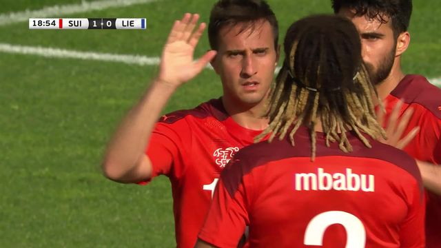 Suisse - Liechtenstein (7-0): score fleuve pour le dernier match de préparation [RTS]