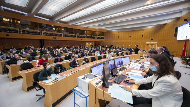 Le Grand Conseil genevois a balayé le programme de législature. [Martial Trezzini - KEYSTONE]