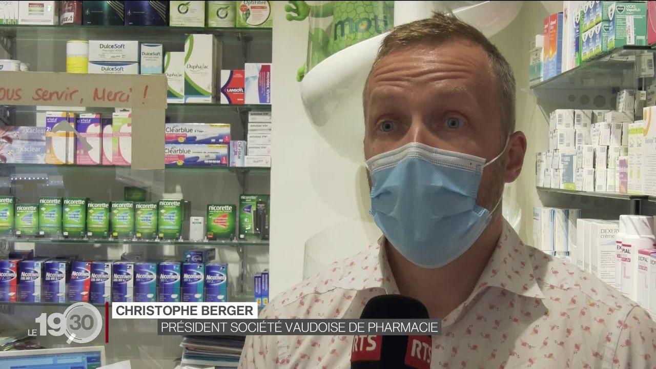 16 millions d'autotests Covid ont été mis en circulation en Suisse depuis avril avec d'importantes marges pour les pharmacies [RTS]