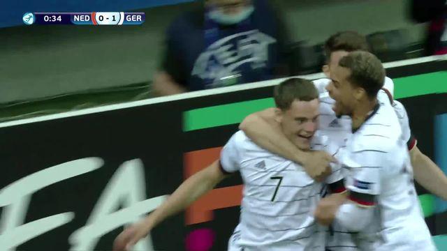 1-2, Pays-Bas - Allemagne (1-2): Wirtz et ses coéquipier retrouveront le Portugal en finale [RTS]