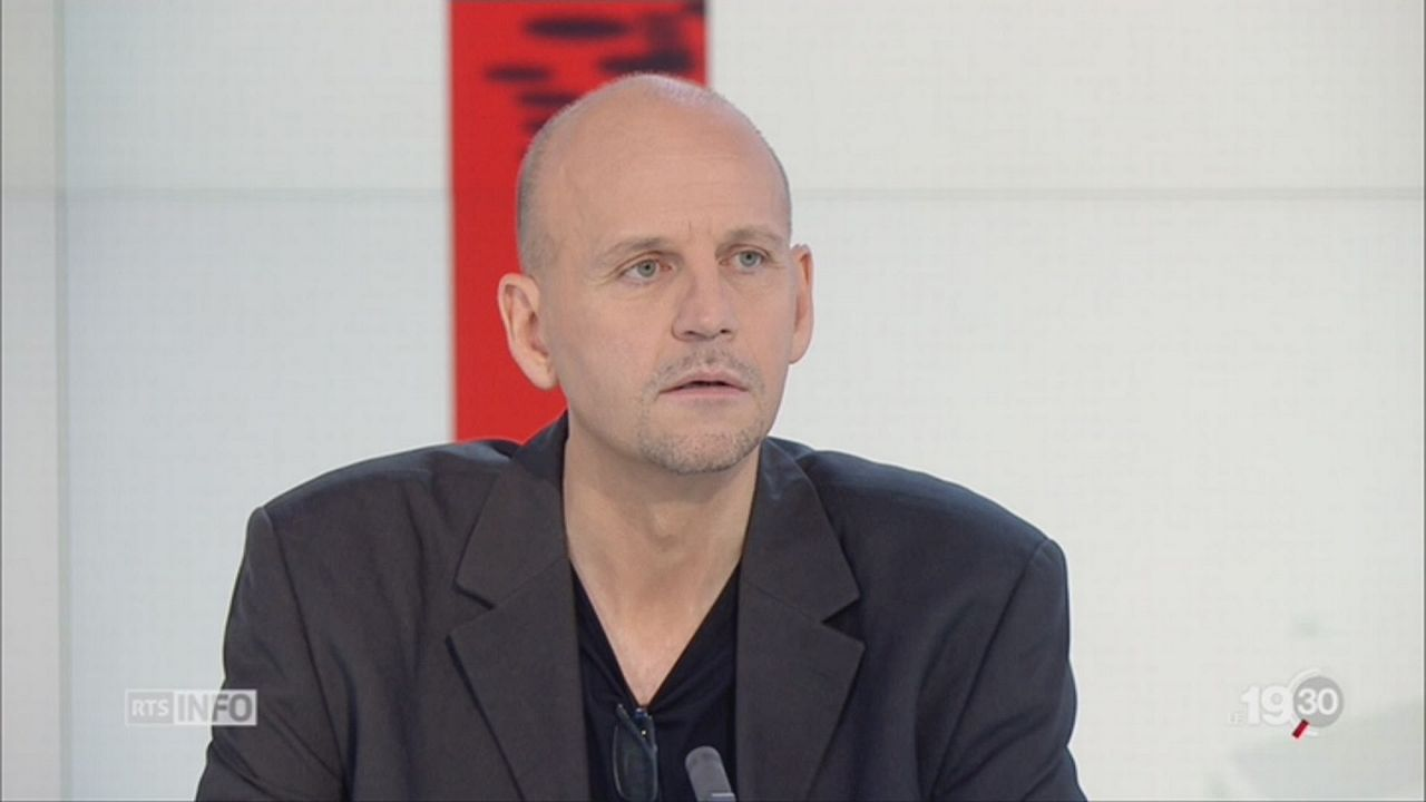 Stéphane Koch, spécialiste des questions numériques. [RTS]