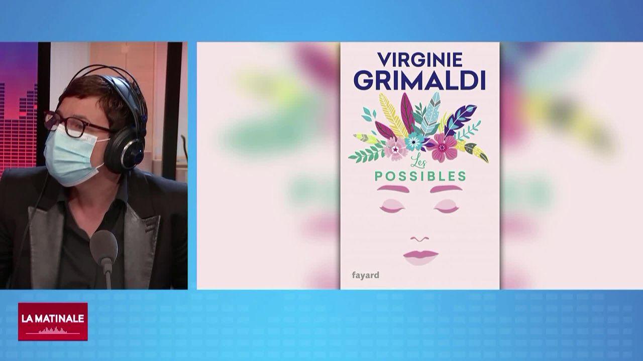 La chronique culturelle - Le nouveau livre de Virginie Grimaldi (vidéo) [RTS]