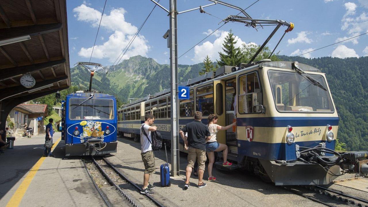 Vaud veut investir 36 millions de francs pour trois lignes touristiques. [Gilles Lansard - AFP]