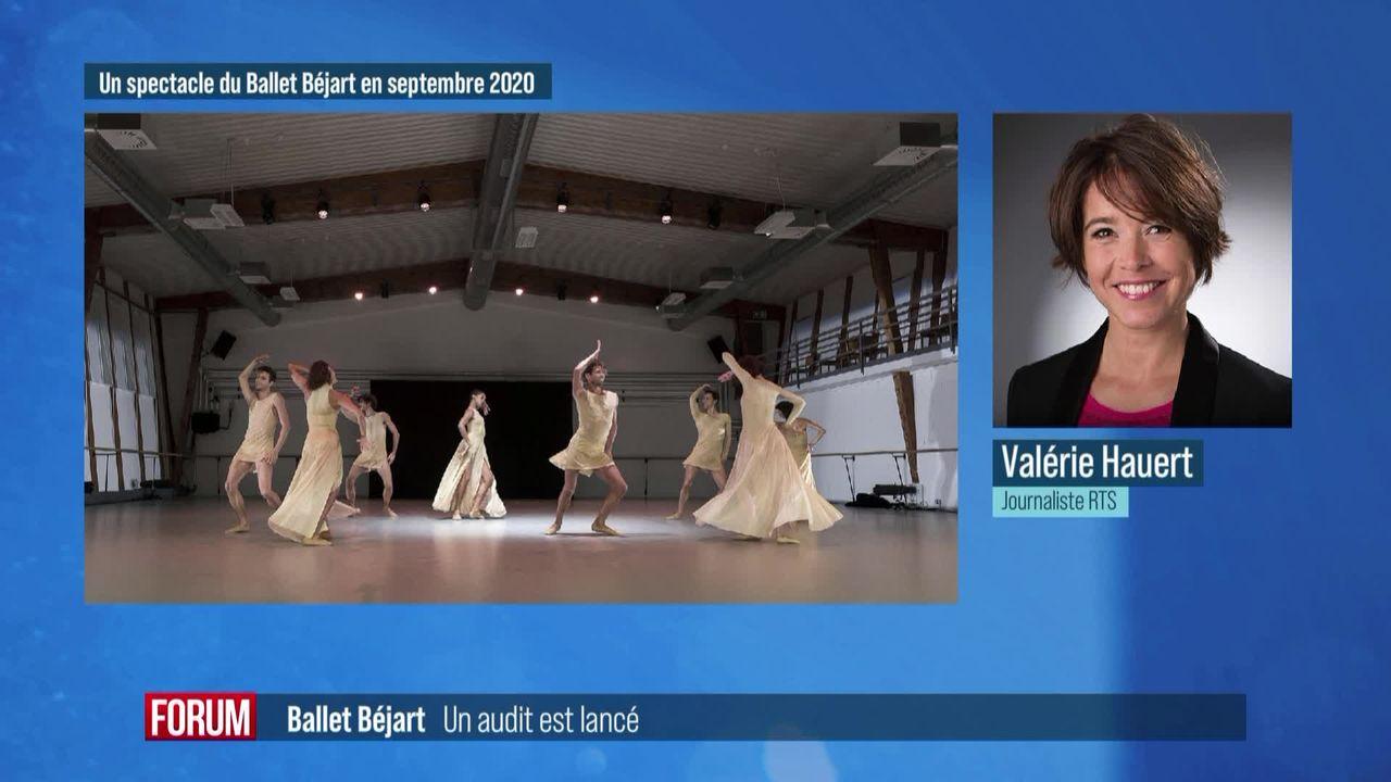 La Fondation du Béjart Ballet lance un audit sur toute sa structure [RTS]
