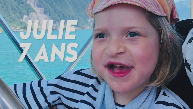 Ma maladie rare (TV) : Julie - 7 ans [RTS]