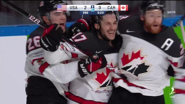 1-2 USA – Canada (2-4): Le Canada se qualifie pour la finale [RTS]