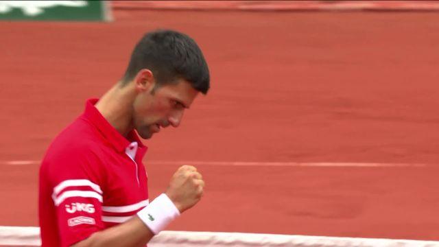3e tour, N.Djokiovic (SRB) – R.Berankis (LTU) (6-1, 6-4, 6-1): Djokovic en 8es sans forcer [RTS]