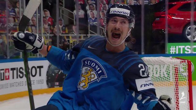 ½, Finlande – Allemagne (2-1): la Finlande rejoint le Canada en finale [RTS]