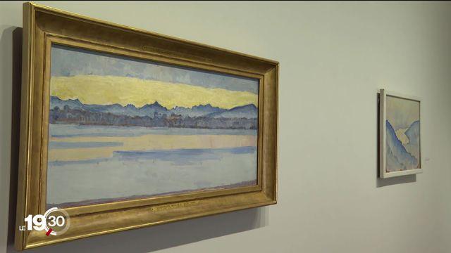 Le Musée d'Orsay à Paris accueille une exposition sur les peintres suisses de la fin du 19e siècle [RTS]