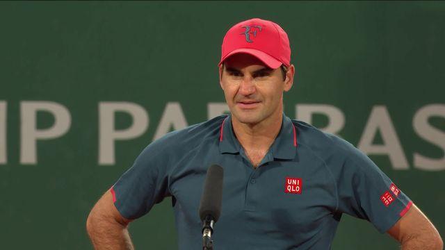 3e tour, D.Köpfer (GER) – R.Federer (SUI) (6-7, 7-6, 6-7, 5-7): interview de Roger Federer après la rencontre [RTS]