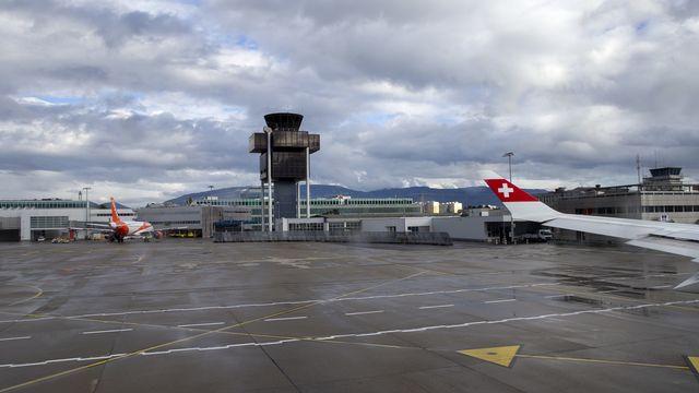 L'espace aérien au-dessus de Genève sera en grande partie fermé lors du sommet Biden-Poutine. [Salvatore Di Nolfi - Keystone]