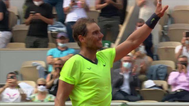 Roland Garros - Haut de tableau [RTS]