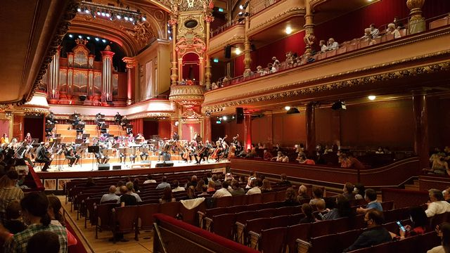 Un concert test à Genève. [Guillaume Rey - RTS]
