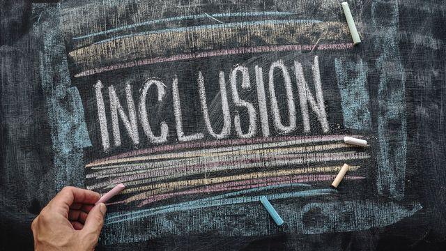 L'écriture inclusive (illustration). [Igor Stevanovic - Ist / Science Photo Library via AFP]