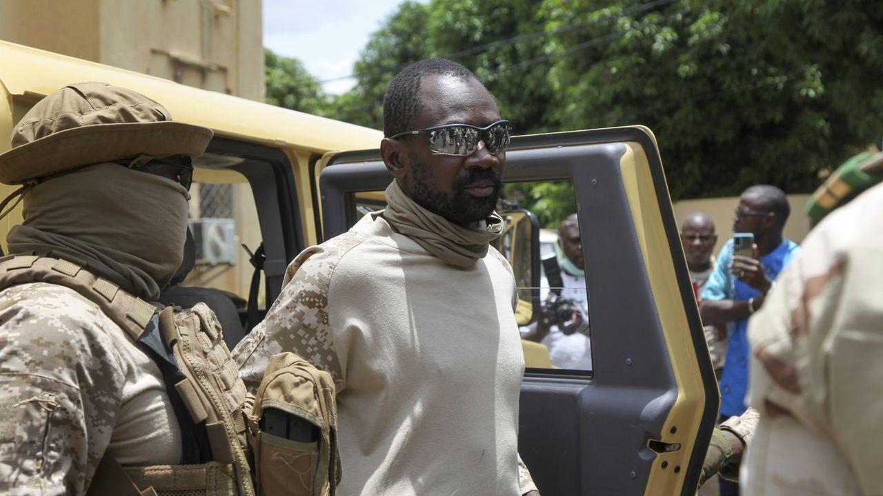 Le colonel Assimi Goita va être investi président du Mali. [Baba Ahmed - Keystone/AP]