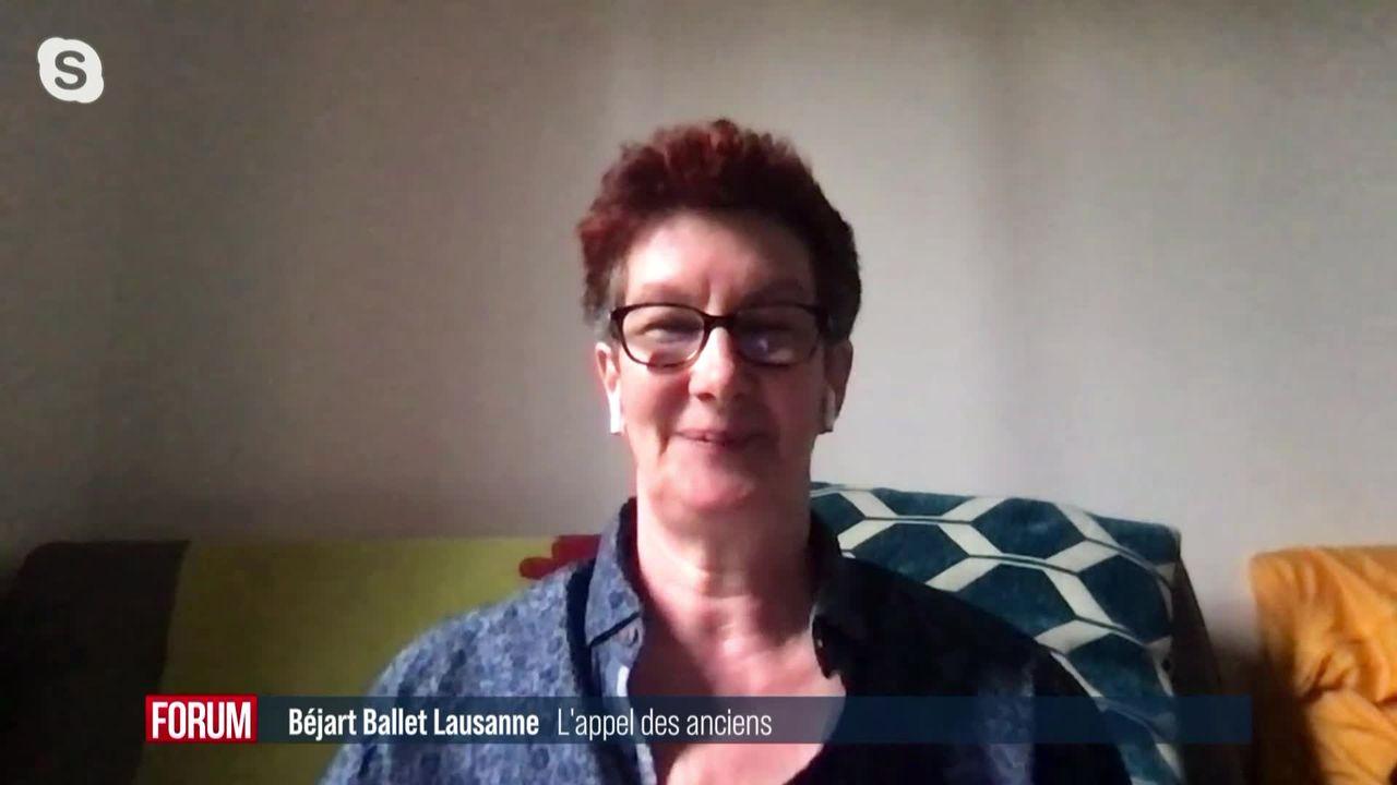 Des anciens du Béjart Ballet Lausanne se font entendre dans l'audit visant l'école: interview d'Anne Papilloud [RTS]
