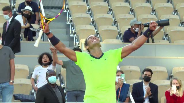 1-8, R.Nadal (ESP) - J.Sinner (ITA) (7-5, 6-3, 6-0): encore une victoire nette pour le boss de Paris [RTS]
