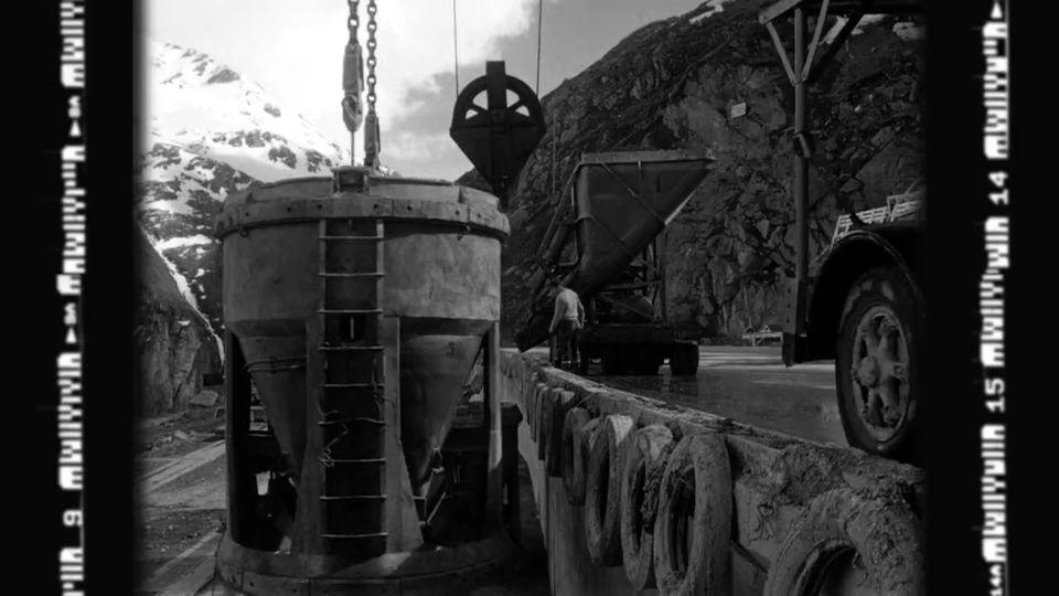 Le barrage de la Grande Dixence [RTS]