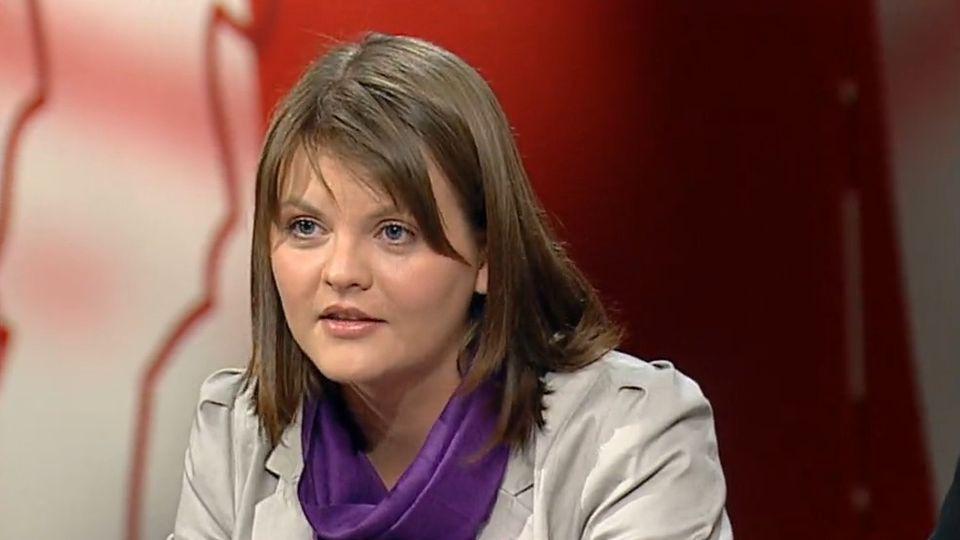 Olga Baranova, la jeune socialiste de 20 ans s'engage en politique contre la discrimination envers les femmes. [RTS]