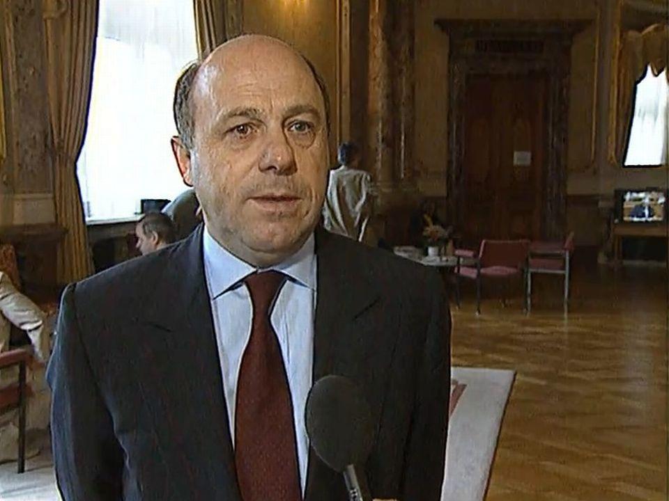 Le Neuchâtelois Claude Frey critique la grève des femmes en 1991. [RTS]