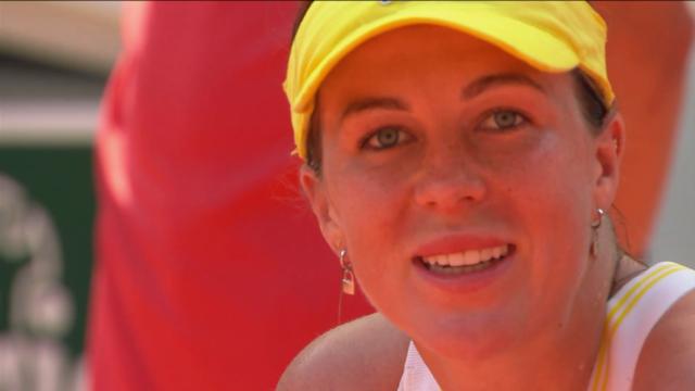 1-4, E.Rybakina (KAZ) – A.Pavlyuchenkova (RUS) (7-6, 2-6, 7-9): la Russe se qualifie pour une première demie en Grand Chelem!