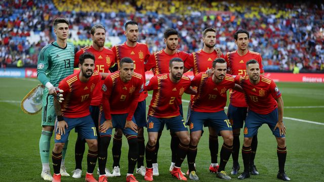 La Roja ne veut prendre aucun risque. [AP Photo/Manu Fernandez - Keystone]