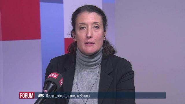 Le Parlement fédéral fixe l'âge de la retraite des femmes à 65 ans [RTS]