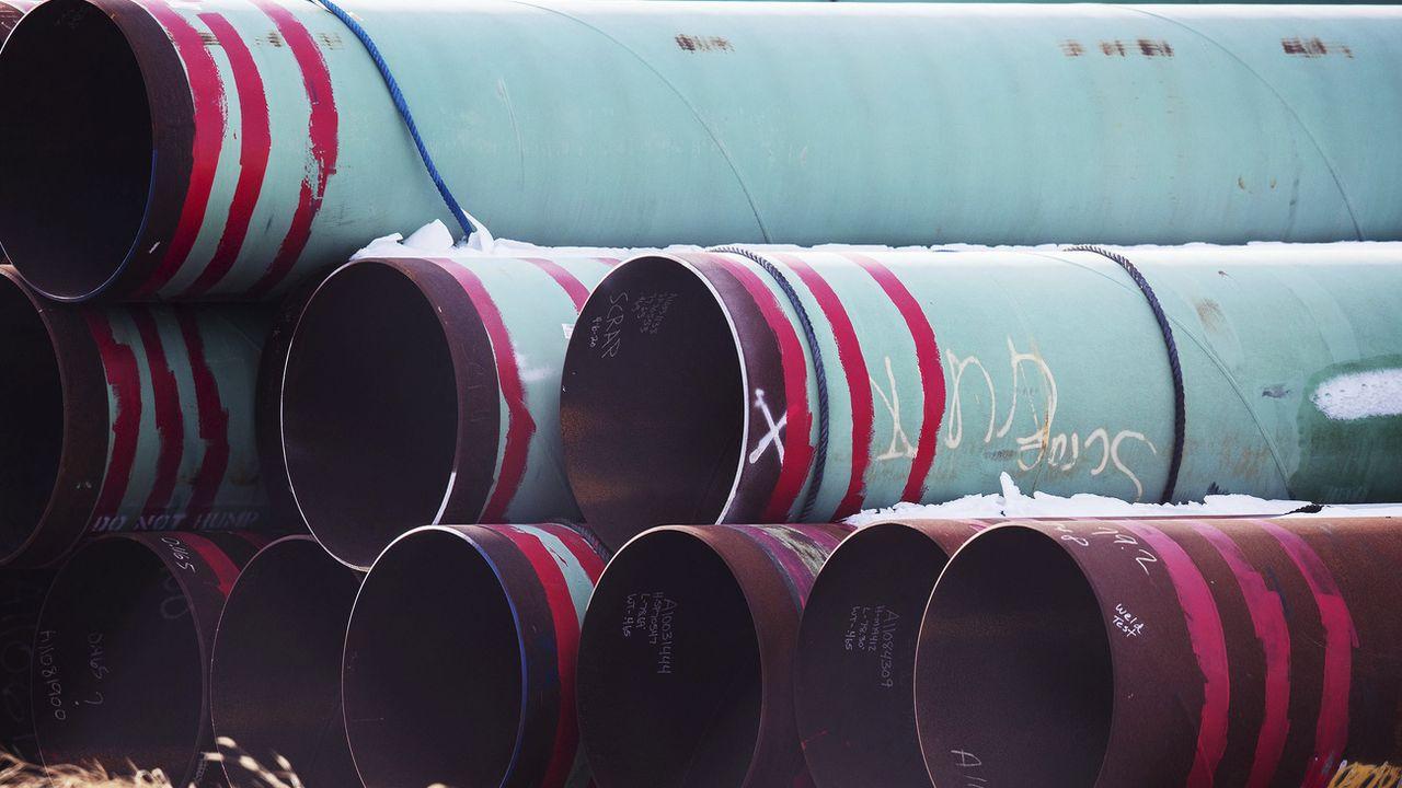 Le projet controversé d'oléoduc Keystone XL entre le Canada et les Etats-Unis est abandonné. [Chris Machian - Keystone]