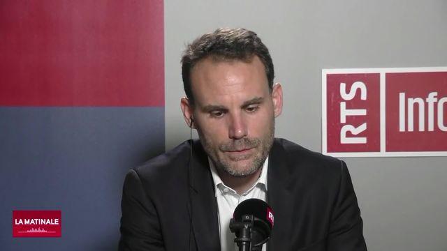 L'invité de La Matinale (vidéo) - Cyrille Bret, spécialiste des relations Europe-Etats-Unis [RTS]