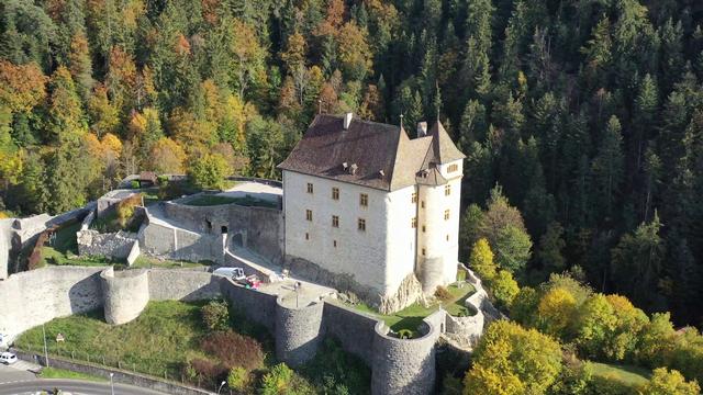 Le gibet de Valangin - La Suisse mystérieuse