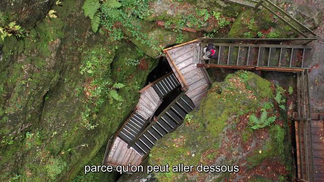 Le Temple des Nymphes - La Suisse mystérieuse