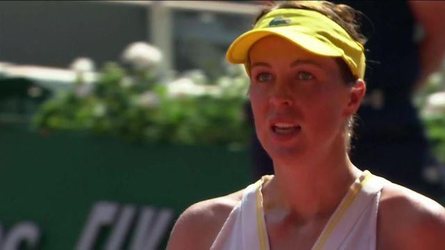 1-2, A.Pavlyuchenkova (RUS) - T.Zidansek (SLO) (7-5, 6-3): une première finale pour la Russe [RTS]