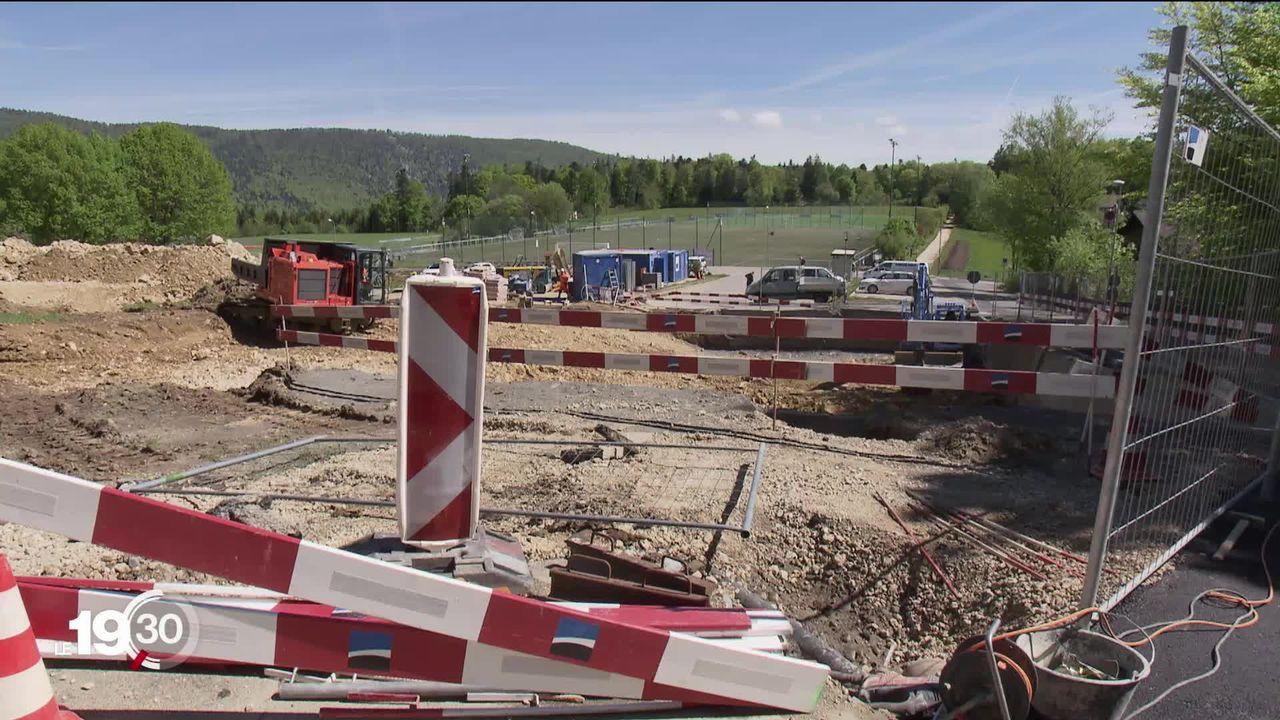 L'armée construit un nouveau Bunker à Macolin. Les riverains sont fâchés. [RTS]