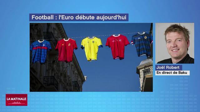 Les enjeux sportifs de l'Euro 2021 (vidéo) [RTS]