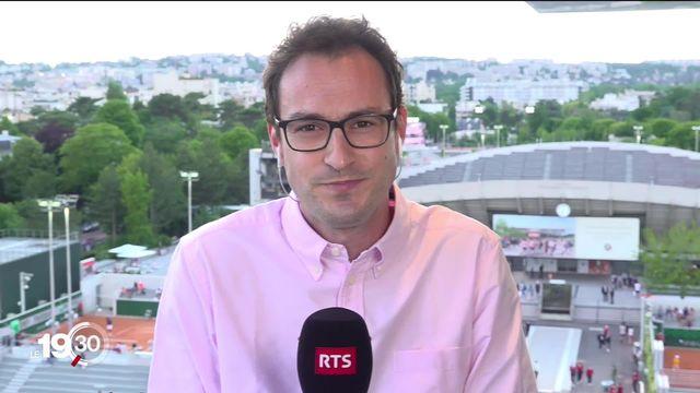 """Marc Gisclon: """"Roger Federer n'entend prendre aucun risque. Il ne veut pas rater le rendez-vous de Wimbledon"""" [RTS]"""