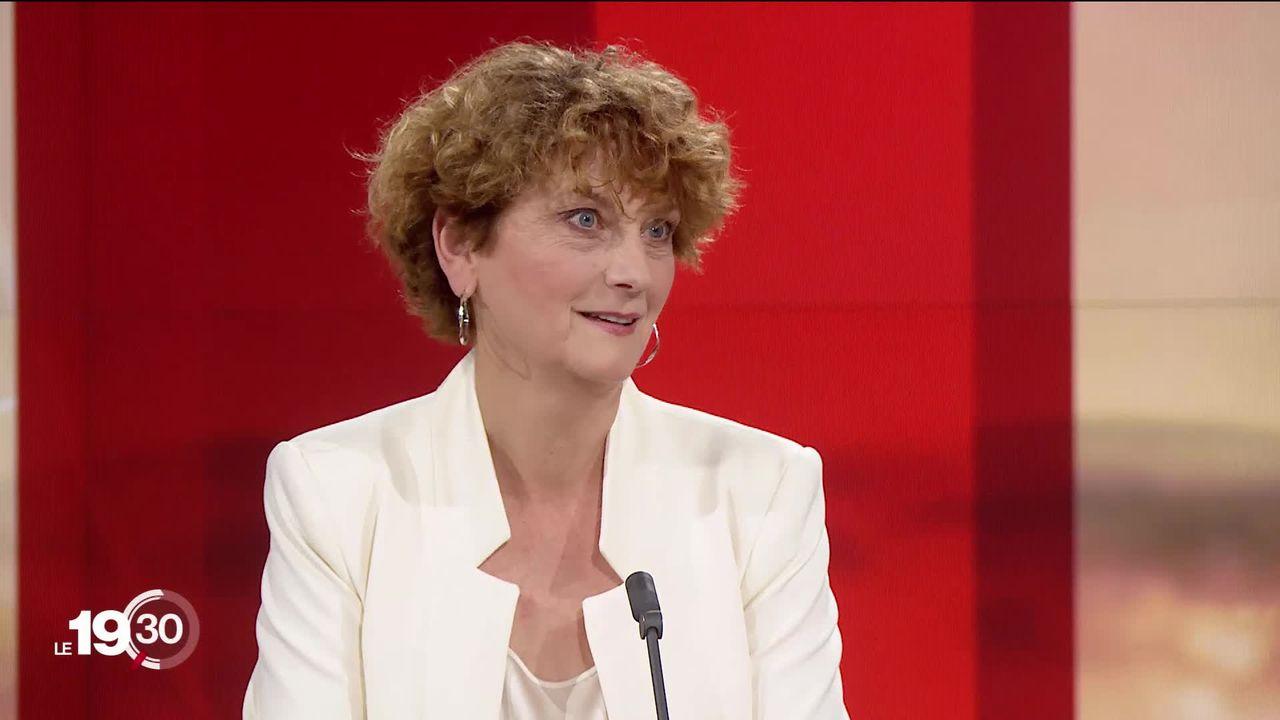 """Marianne Maret: """"Cela me blesse qu'on pense qu'un homme puisse mieux représenter les femmes qu'une femme"""" [RTS]"""