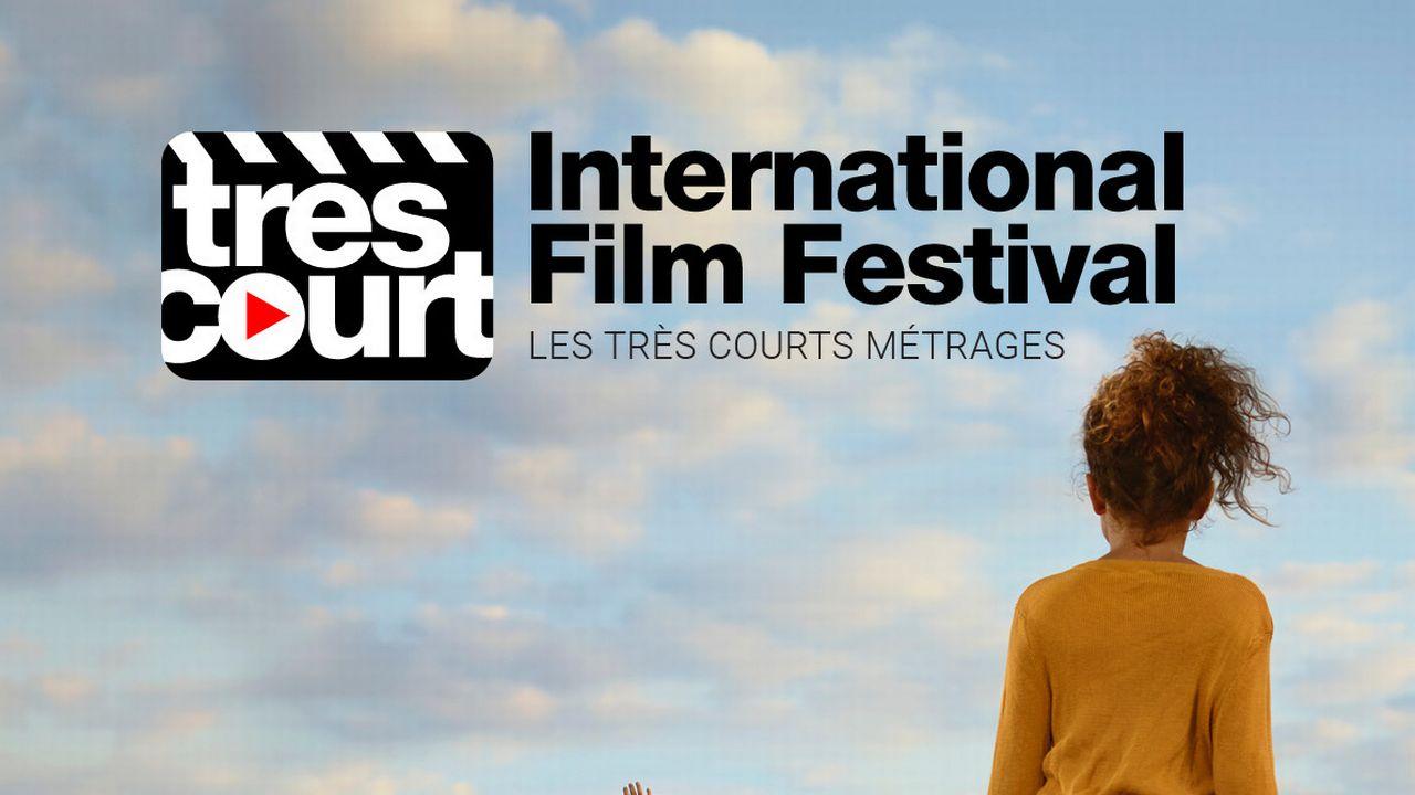 Affiche de la 23ème édition du Très Court Festival.  [Ellen Kooi - Très court festival]