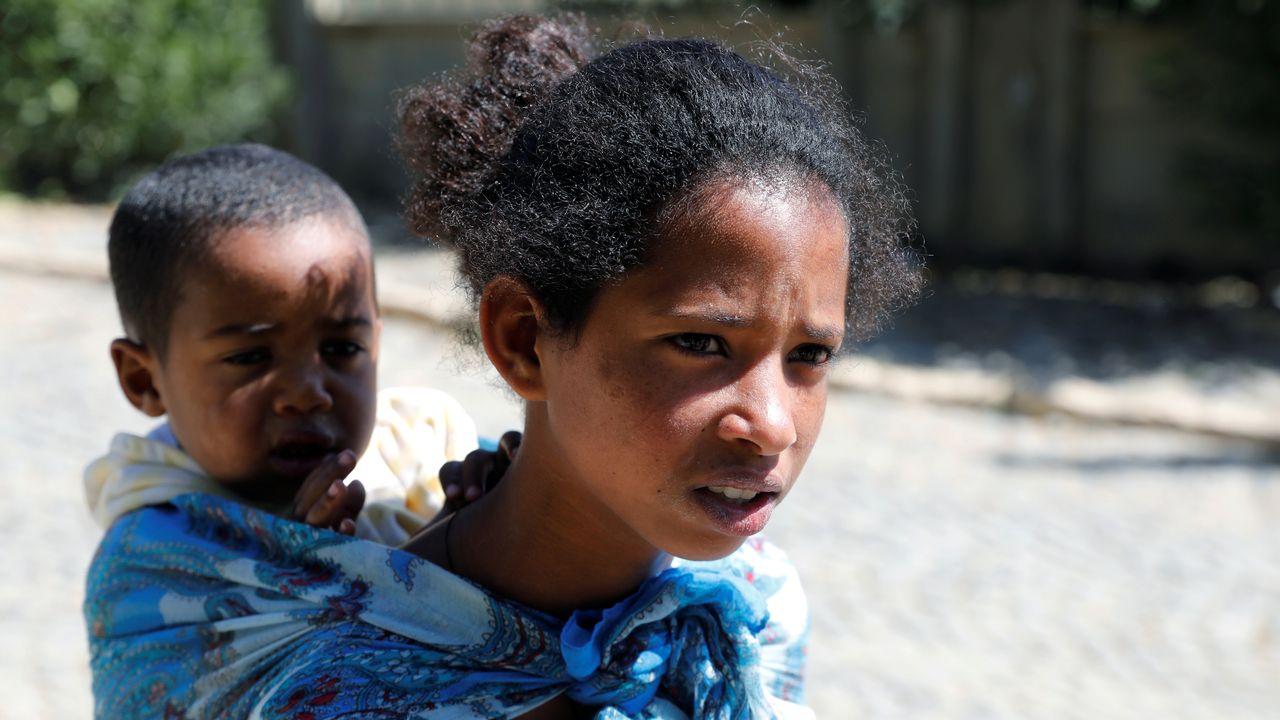 Quelque 30'000 enfants risquent de mourir au Tigré en proie à la famine [Baz Ratner - Reuters]