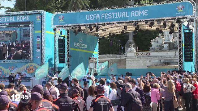 L'Euro 2020 débute ce soir à Rome avec un match entre l'Italie et la Turquie [RTS]
