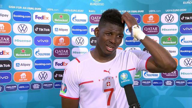 Pays de Galles- Suisse (1-1): Embolo à l'interview après le match nul [RTS]