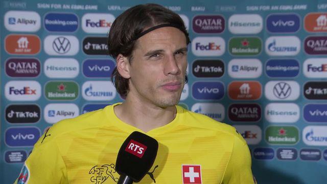 Pays de Galles- Suisse (1-1): l'interview de Sommer [RTS]