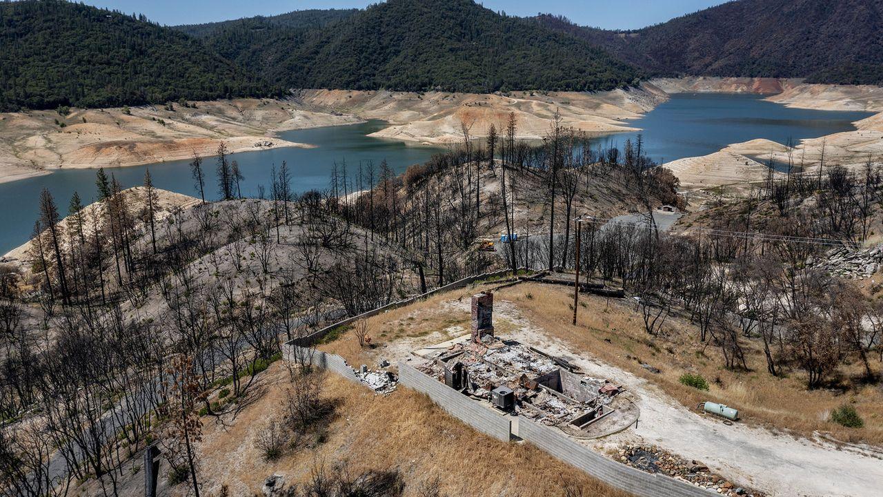 Le lac Oroville, fournit de l'eau à 27 millions de Californiens. [Noah Berger - Keystone]