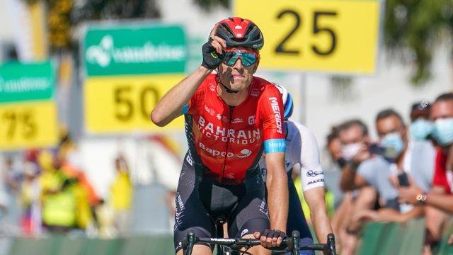 Gino Mäder, 19 ans, a signé une magnifique victoire à Andermatt. [Andy Mueller - Freshfocus]
