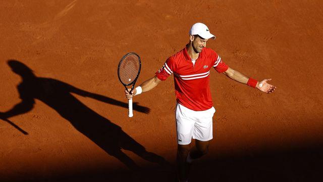 Novak Djokovic a régalé le public du court Philippe-Chatrier. [Keystone]