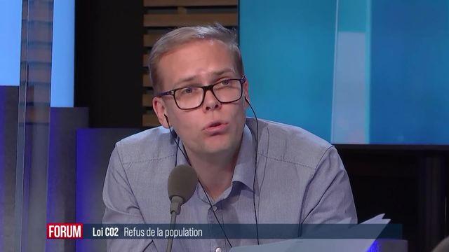 Refus de la Loi CO2 : l'échec de Simonetta Sommaruga pour faire accepter les accords de Paris sur le climat [RTS]